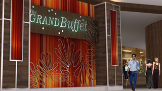 The Grand Buffet entrance at Grand Sierra Resort