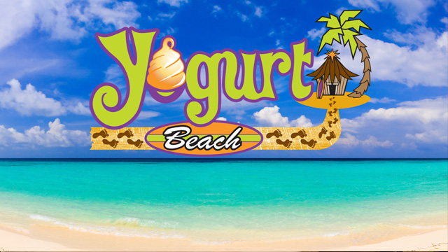 Get your fro-yo fix at Yogurt Beach