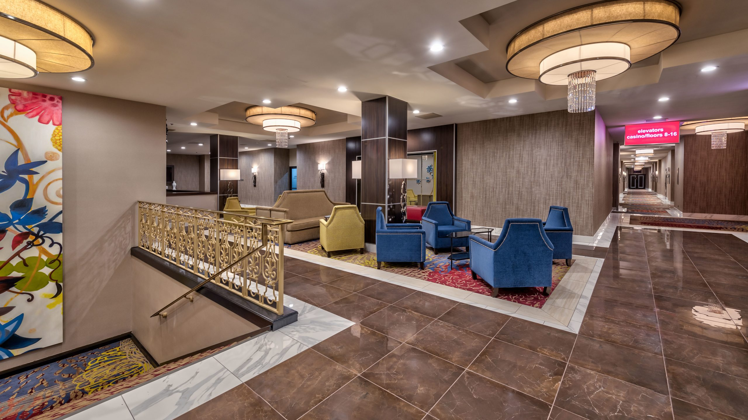 Executive Level Meeting Rooms Lobby