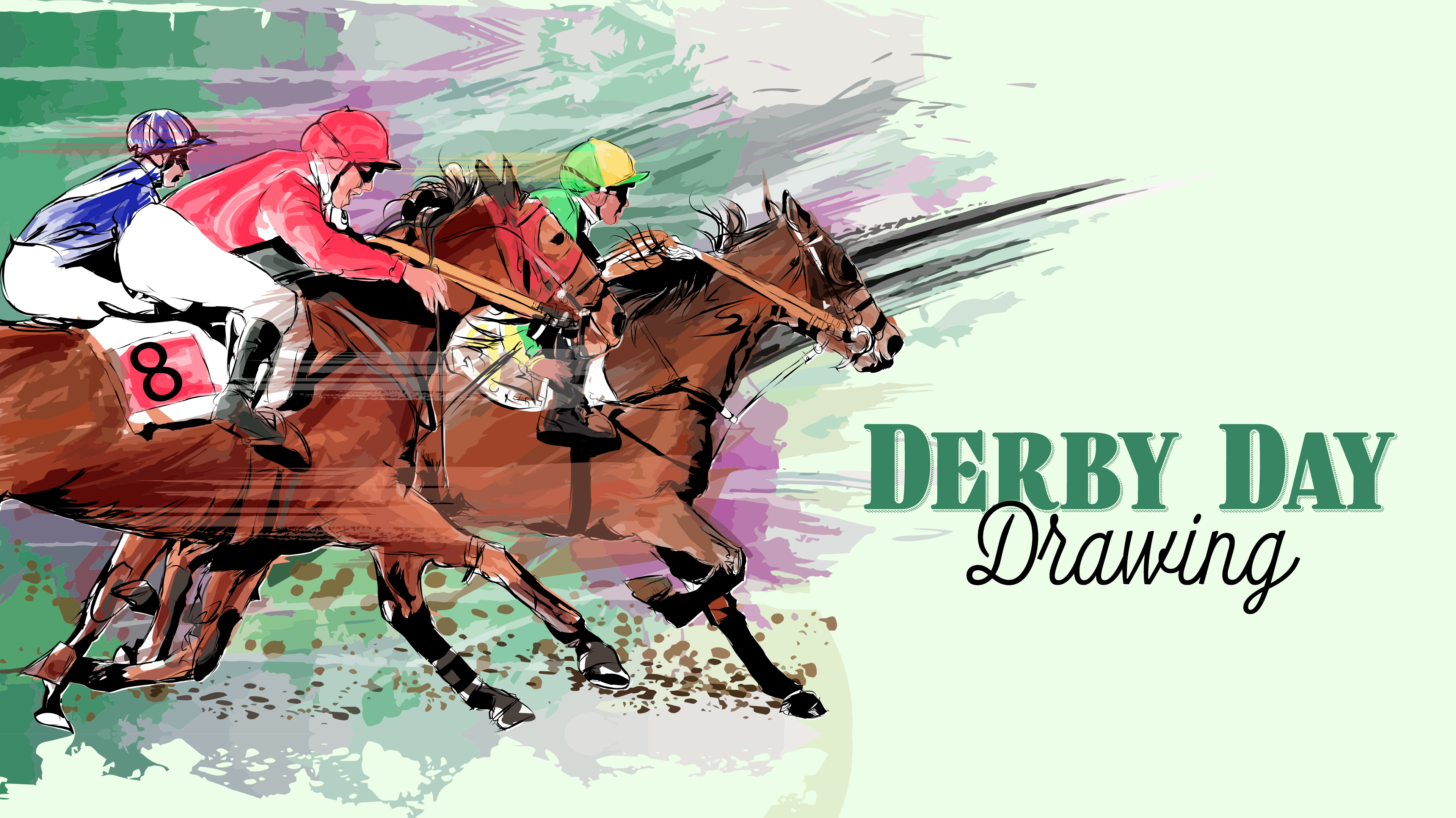 Derby Day Drawings