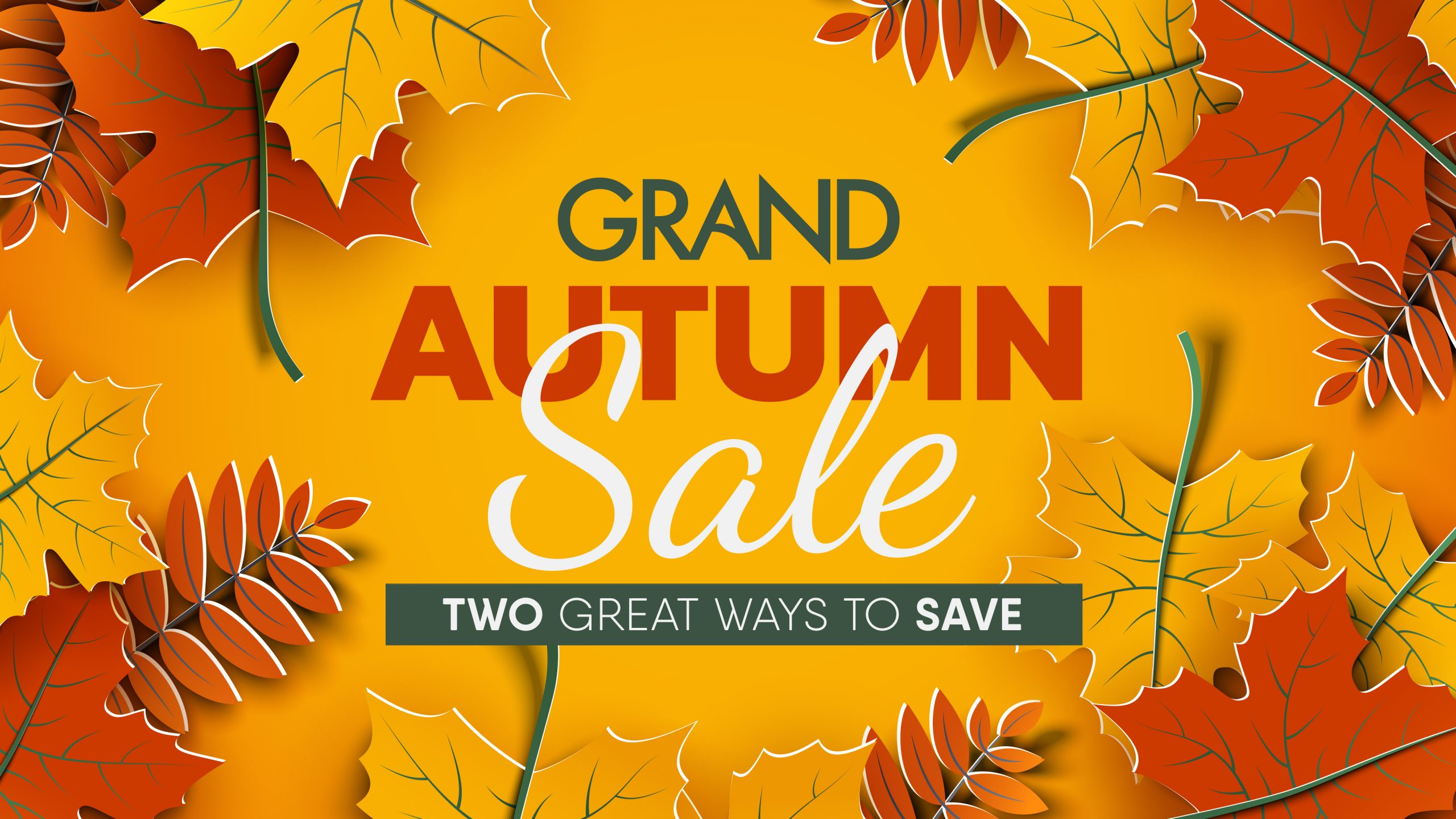 Grand Autumn Sale