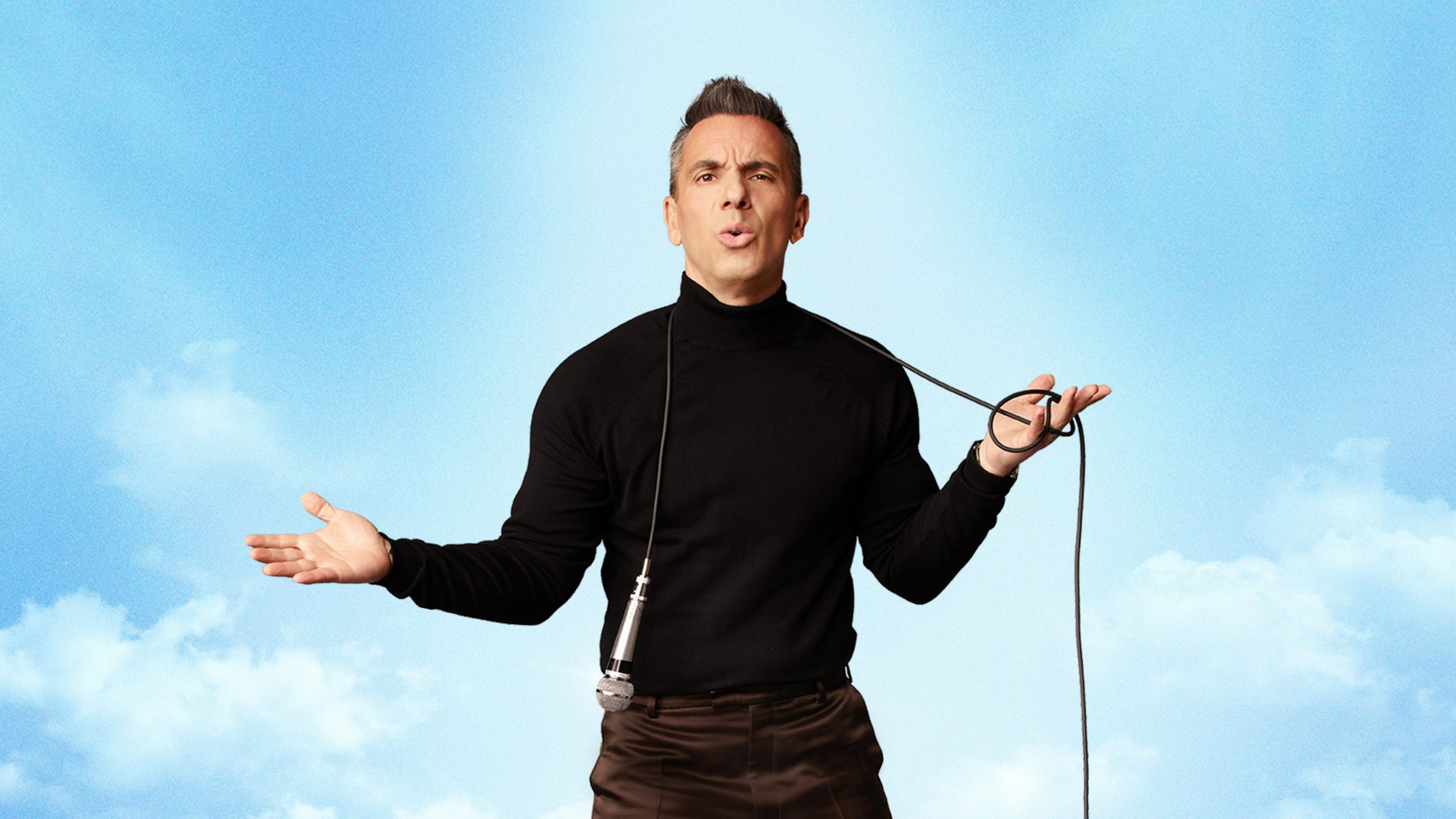 Comedian Sebastian Maniscalco performs at the Grand Theatre at Grand Sierra Resort