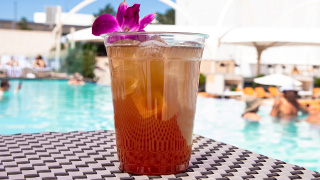 Texas Tea on a hot day at the Pool.