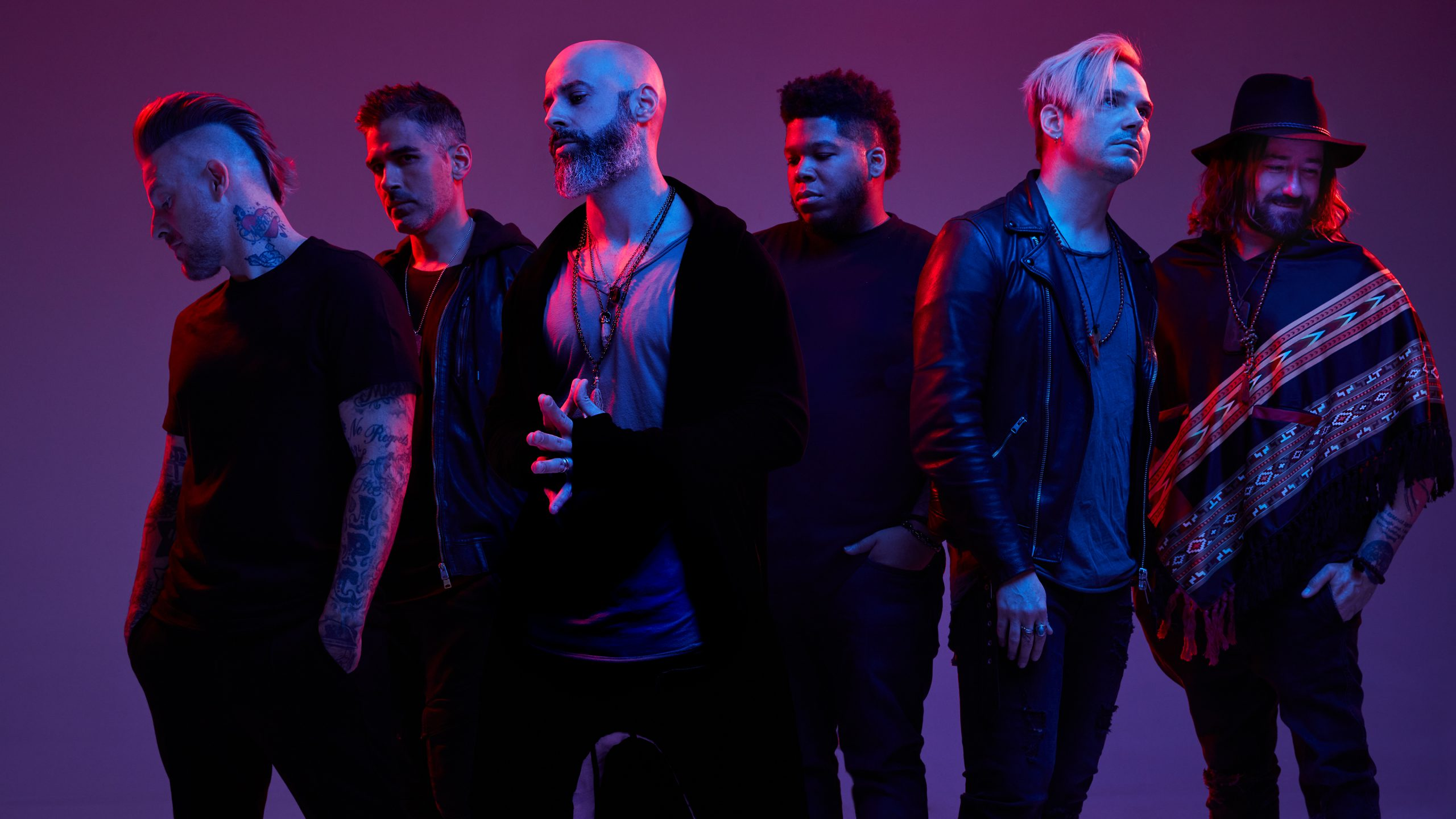 Daughtry Band Glamour Shot