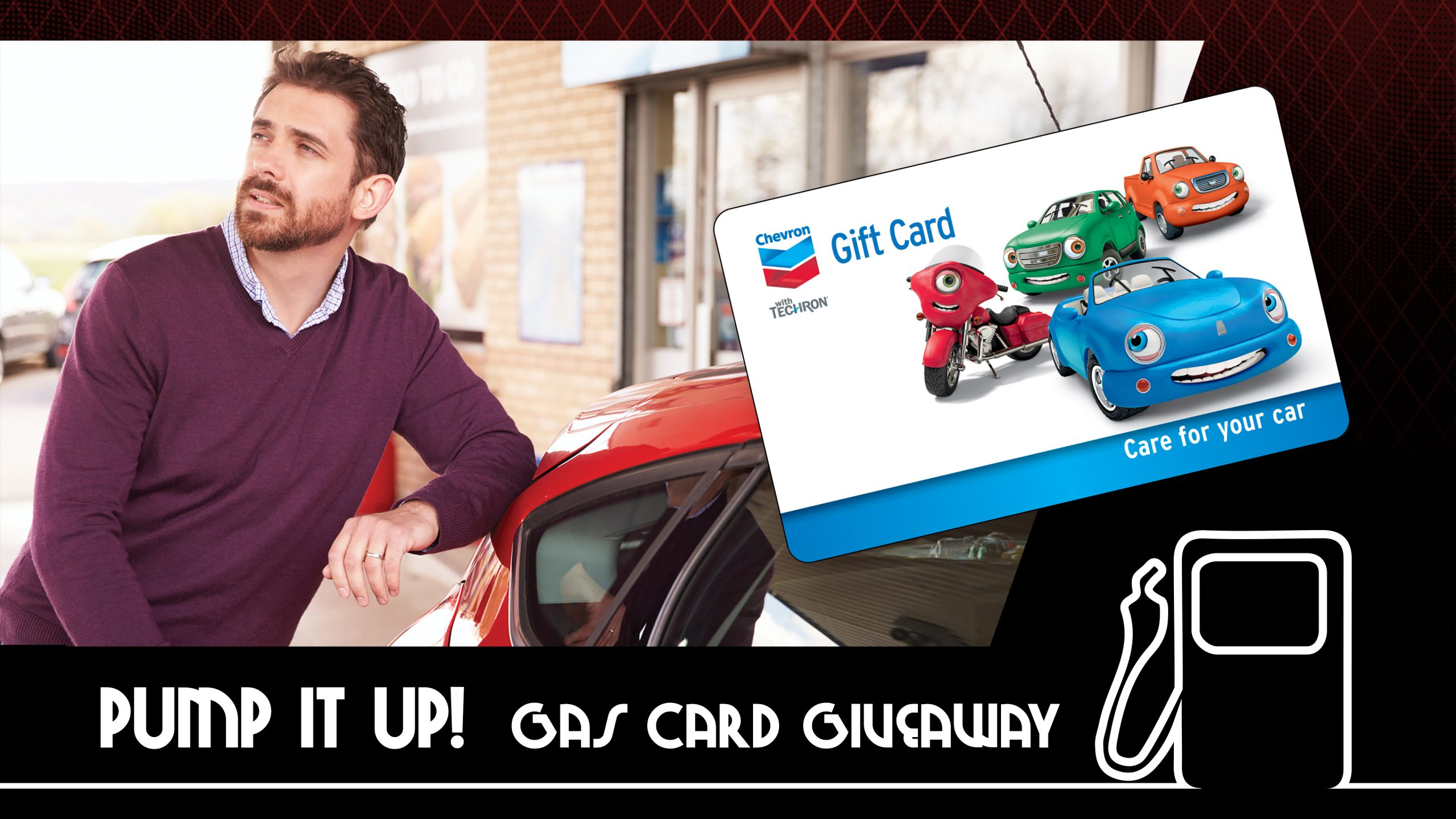 Pump It Up Gas Card Giveaway